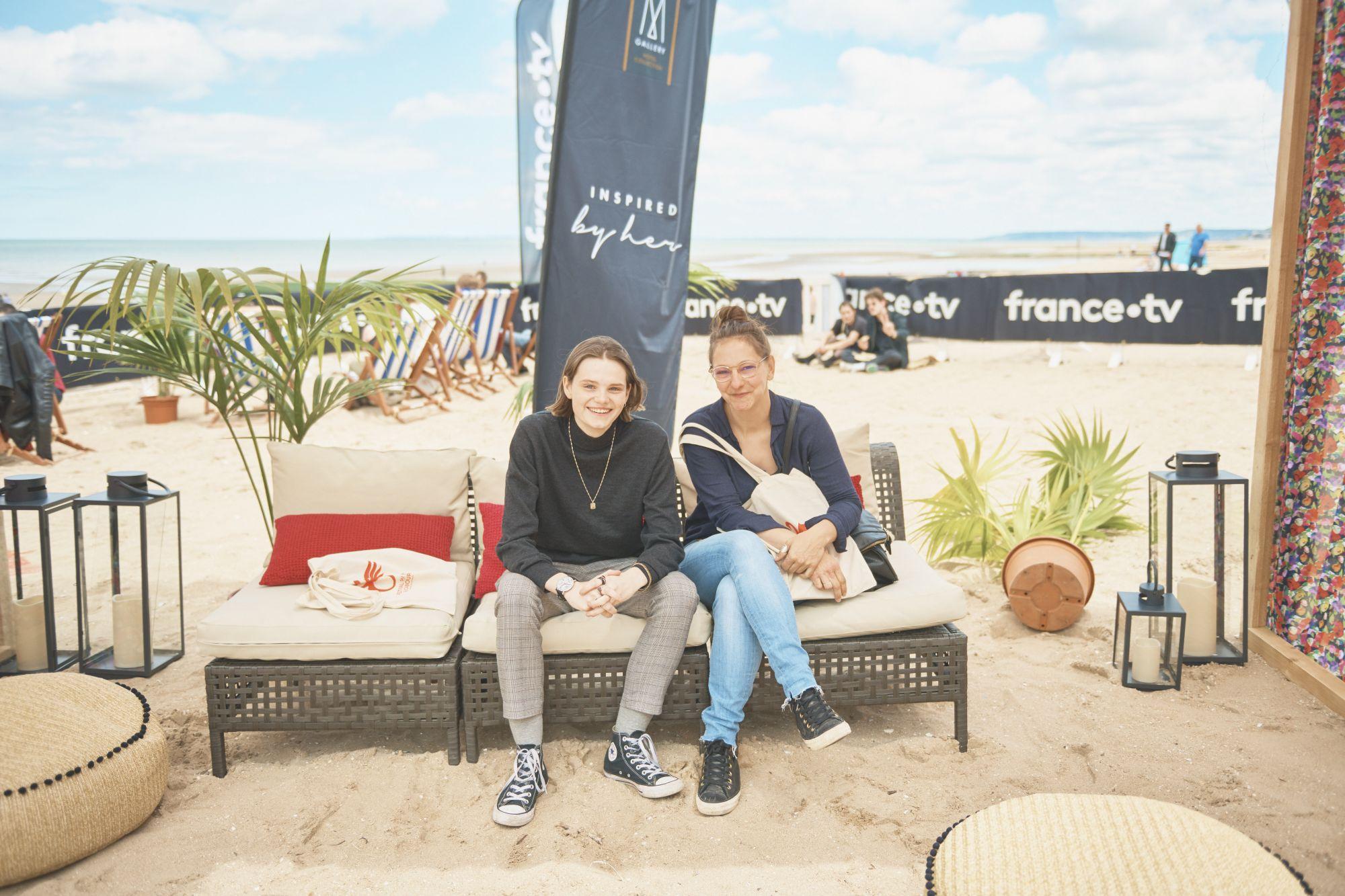 Florence Hugues (réalisatrice) et Zoé Heran (actrice) venues présenter